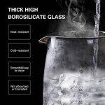 Aigostar Eve 30GON - Bouilloire électrique en cristal avec illumination LED, capacité de 1,7 litres, puissance de 2200W, sans BPA et système de protection contre l'ébullition à sec. Design exclusif. de la marque Aigostar image 4 produit
