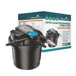 All Pond Solutions Kit de filtration pour bassin koi avec filtre sous pression auto-nettoyant et stérilisateur UV Kit tout en un 8000 L/h de la marque All Pond Solutions image 1 produit