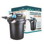 All Pond Solutions Kits avec filtre pressurisé pour bassins à koïs et stérilisateur UV – Tout en un – Pour étangs jusqu'à 50000L (PFC-12000-KIT) de la marque All Pond Solutions image 1 produit