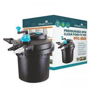 All Pond solutions PFC-8000 Filtre sous Pression avec Stérilisateur/Clarificateur UV Intégré pour Aquariophilie de la marque All Pond Solutions image 0 produit