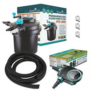 All Pond Solutions PFC-8000-Kit de Filtre Pressurisé pour Bassins à Koïs/Stérilisateur UV pour Aquariophilie de la marque All Pond Solutions image 0 produit