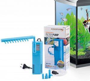Aquaflow Technology® AIF-311M - Pompe de filtre pour aquarium submersible pour eau fraîche et eau salée. Pour réservoirs d'aquarium jusqu'à 50 litres. 300L/H 2W de la marque Aquaflow Technology image 0 produit