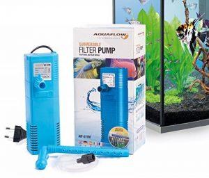 Aquaflow Technology® AIF-611M - Pompe de filtre pour aquarium submersible pour eau fraîche et eau salée. Pour réservoirs d'aquarium jusqu'à 100 litres. 450L/H 6W de la marque Aquaflow Technology image 0 produit