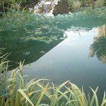 Bassin Filet 3m x 6m feuilles Protection Héron Filet Silo Filet anti-oiseaux Prix de base par M² 0,62& # x20ac; de la marque Aquagart image 1 produit