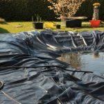 Bâche pour bassin Bâche pour bassin de jardin 0,5 mm noir Bâche pour le bassin de jardin Construction de bassin 10 m de long, noir 6 m de large de la marque Aquagart image 1 produit
