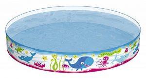 Bestway Piscine gonflable Fill'N Fun Poissons Ocean diamètre 152 h 25 de la marque Bestway image 0 produit