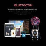 Boule Plasma, OCDAY Boule Magique Lampe d'Ambiance Foudre Tactile Cristal Bluetooth CSR 4.0, Radio FM Intégrée, Support U Disque / TF / SD Carte Compatible avec Samrt Phone, Ordinateur, Mp3 de la marque OCDAY image 4 produit