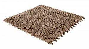 Carrelage flexibles en plastique 55,5x 55,5cm pour intérieur, extérieur et jardin, beige, drenanti et autobloquante pièces 4 de la marque Multiplate image 0 produit