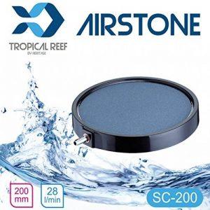 Classica as066Koi étang ou aquarium 200mm rond en céramique 20,3cm Disque Diffuseur Air Stone Air pierre Diffuseur de la marque Classica Exclusive to Heritage Pet Products image 0 produit