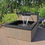 CLGarden MTWS1 miniature avec LED Cascade, Mini bassin pour jardin balcon terrasse de la marque CLGarden image 1 produit