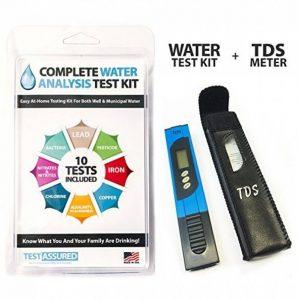 Complete kit de test d'eau avec TDS mètre–Home tests avec des Résultats en quelques minutes de la marque Test Assured image 0 produit