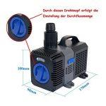 CTP-4800Super Eco Pompe de bassin 4500l/h 30W avec axe en céramique de la marque Yorbay image 1 produit