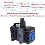 CTP-4800Super Eco Pompe de bassin 4500l/h 30W avec axe en céramique de la marque Yorbay image 3 produit