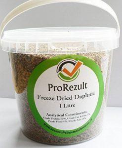 De ml Tub lyophilisés Daphnie 220g pour tous les poissons tropicaux, Koi & étang Poisson, Fry et reptiles 220g de la marque PROREZULT image 0 produit