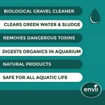 Envii Aquarium Klear - Traitement Bactériologique Anti-Algue Pour Aquarium Qui Nettoie L'eau et Les Graviers et Fait Disparaître Les Algues Vertes - 500ml de la marque Envii image 2 produit