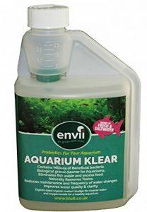 Envii Aquarium Klear - Traitement Bactériologique Anti-Algue Pour Aquarium Qui Nettoie L'eau et Les Graviers et Fait Disparaître Les Algues Vertes - 500ml de la marque Envii image 0 produit