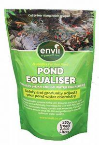 Envii Pond Equaliser - Protège Instantanément et Stabilise Des Niveaux de pH, KH et GH Sains Pour Créer un Environnement Parfait Pour le Bassin (250g) de la marque Envii image 0 produit