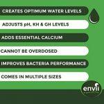 Envii Pond Equaliser - Protège Instantanément et Stabilise Des Niveaux de pH, KH et GH Sains Pour Créer un Environnement Parfait Pour le Bassin (250g) de la marque Envii image 1 produit