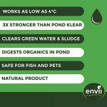 Envii Pond Klear Xtra - Algicide Pour Bassin Utilisant Des Bactéries Pour Éliminer L'eau Verte et Les Algues, Sans Risque Pour Les Poissons, Ni Les Animaux Domestiques - 1 Litre de la marque Envii image 3 produit
