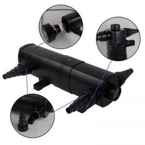EverBest4U CUV-236 clarificateur d'eau en acier inoxydable clarificateur d'eau filtre à lumière 36W, purificateur d'eau, lumière UVC de la marque EverBest4U image 0 produit
