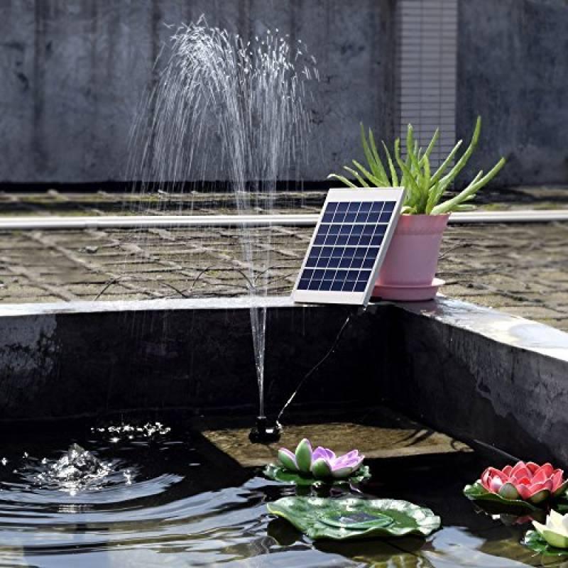 Pompe à eau solaire pour cascade, comment trouver les meilleurs ...