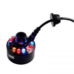 Fuloon 12 LED Multicolore Feux De Brouillard / Brumisateur / Diffuseur avec AC Adapteur pour Fontaine Aquarium de la marque Fuloon image 0 produit