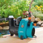 GARDENAPompe d'arrosage de surface 4000/5 Comfort : pompe d'arrosage avec débit de 4000 l/h, filtre intégré, faible bruit, haute efficacité, accessoires de jardin pour le circuit d'eau (1732-20) de la marque Gardena image 3 produit