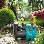 GARDENAPompe d'arrosage de surface 4000/5 Comfort : pompe d'arrosage avec débit de 4000 l/h, filtre intégré, faible bruit, haute efficacité, accessoires de jardin pour le circuit d'eau (1732-20) de la marque Gardena image 1 produit