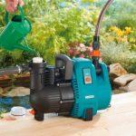 GARDENAPompe d'arrosage de surface 4000/5 Comfort : pompe d'arrosage avec débit de 4000 l/h, filtre intégré, faible bruit, haute efficacité, accessoires de jardin pour le circuit d'eau (1732-20) de la marque Gardena image 2 produit