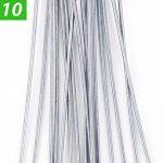 GardenPrime Galvanisé Piquets de Fixation pour Jardin Premium en Forme de U 50 x 2,8 mm pour la Fixation des Tissus Anti Mauvaises Herbes, Molleton, imperméables, Tissus de Paysage (50 Pièces) de la marque GardenPrime image 1 produit