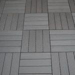 Gartenfreude Dalles massives pour terrasse EVERFLOOR en WPC (bois composite), gris foncé, 10 pièces, 30 x 30 cm (env. 0,9 m2) de la marque Gartenfreude image 1 produit