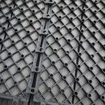 Gartenfreude Dalles massives pour terrasse EVERFLOOR en WPC (bois composite), gris foncé, 10 pièces, 30 x 30 cm (env. 0,9 m2) de la marque Gartenfreude image 2 produit