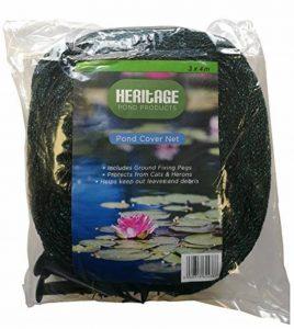 Heritage Pet Products – Filet de protection de bassin, protège contre les chats, les hérons, les feuilles de la marque Heritage image 0 produit