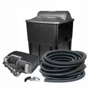 Hozelock Tricoflex 18661582Ecopower + 20000Filtre de bassin de jardin avec UVC intégrée, noir, 50,8x 40,5x 29,1cm de la marque Hozelock Tricoflex image 0 produit
