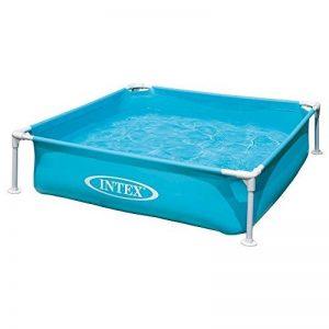 Intex 0775252 Piscine Mini Cadre Acier Bleu 122 x 122 x 30 cm de la marque Intex image 0 produit