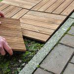 Kingfisher FT100 Lot de 9dalles en bois pour terrasse - Bois naturel de la marque Kingfisher image 3 produit