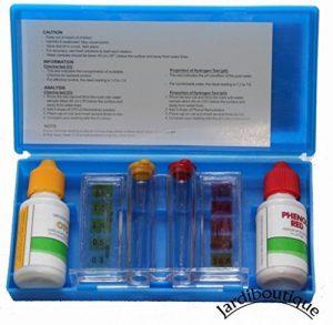 Kit d'analyse de l'eau de votre piscine - Teste d'eau piscine - jardiboutique de la marque Jardiboutique image 0 produit