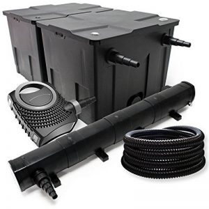 Kit de filtration avec Bio Filtre 60000l, 72W UV Stérilisateur, Pompe de bassin et 25m Tuyau de la marque WilTec image 0 produit