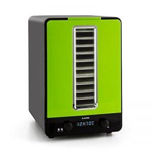 Klarstein Fruitcube Déshydrateur alimentaire électrique au design moderne (550W, 10 étages, 40°-70°C, ) - vert de la marque Klarstein image 0 produit