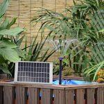 LUXJET Pompe à Eau Solaire de 5W Fontaine de Jardin Solaire avec Débit Maximum 380L/H de la marque LUXJET image 2 produit