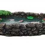 Mini bassin Koï – un mini bassin à carpes Koï pour votre Jardin Féérique – un accessoire pour votre Jardin Enchanté par GlitZGlam de la marque GlitZGlam image 3 produit