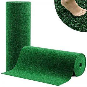 Moquette d'extérieur casa pura® Spring vert au mètre | tapis type gazon artificiel - pour jardin, terrasse, balcon etc. | revêtement de sol outdoor | 150x200cm de la marque casa pura image 0 produit