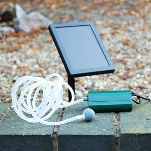 Oxygénateur de pompe à air solaire pour Garden Pond 0.6W, 100LPH - Pond 1 Kit d'aération en pierre par PK Green de la marque PK Green image 0 produit
