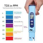 Pancellent Testeur de qualité de l'eau TDS PH 2 en 1 Set 0-9990 PPM Plage de mesure 1 PPM Résolution 2% Précision de lecture de la marque Pancellent image 3 produit