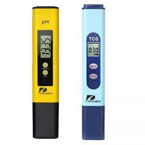 Pancellent Testeur de qualité de l'eau TDS PH 2 en 1 Set 0-9990 PPM Plage de mesure 1 PPM Résolution 2% Précision de lecture (Jaune) de la marque Pancellent image 0 produit
