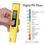 Pancellent Testeur de qualité de l'eau TDS PH 2 en 1 Set 0-9990 PPM Plage de mesure 1 PPM Résolution 2% Précision de lecture (Jaune) de la marque Pancellent image 4 produit