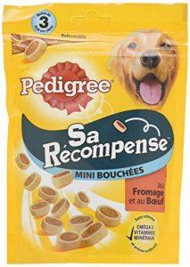 Pedigree Sa Récompense Mini Bouchées Bœuf/Fromage pour Chien 6 Sachets de 140 g de la marque Pedigree image 0 produit