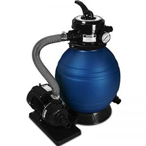 Pompe filtre à sable et particule 10200 l/h avec sa pompe et ses accessoires de la marque Deuba image 0 produit