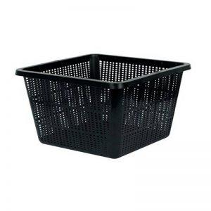 Pot panier carré pour systèmes de culture hydroponique (28x28cm) de la marque VELDA image 0 produit