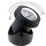 QHB LED Projecteur IP68 Sous-Marin Submersible Lampe Ajustable Applique Murale Auto On/Off Pour De Plein Air Jardin Cour Pelouse Réservoir De Poissons de la marque QHB image 1 produit